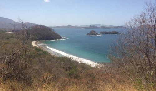 A beach on the Pacific coast of Costa Rica