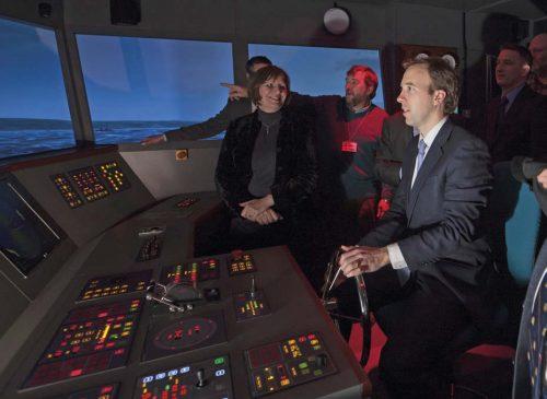 Navigation Centre's Ship Simulator