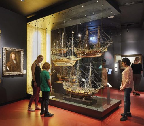 National Maritime Museum exhibits