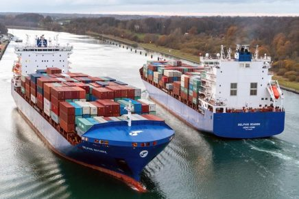 CMB's 'Delphis' container vessels