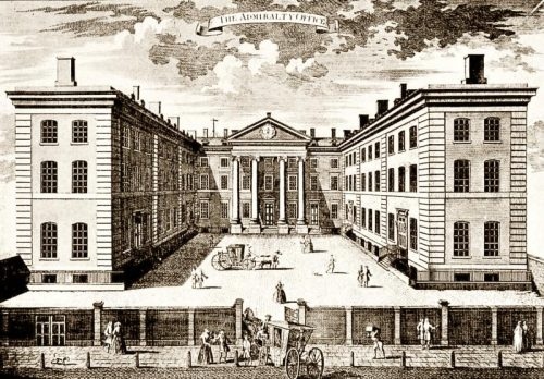 The Admiralty's commanding presence at the centre of British government was manifested in appropriately imposing buildings.