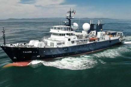 RV Falkor, the Schmidt Ocean Institute's research vessel