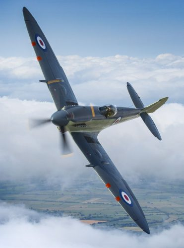 Seafire Mk17 SX336 – the only Mk17 still flying.