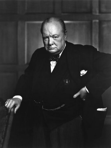 Sir Winston Churchill, First Lord of the Admiralty, in office 1911–1915 and 1939 –1940.